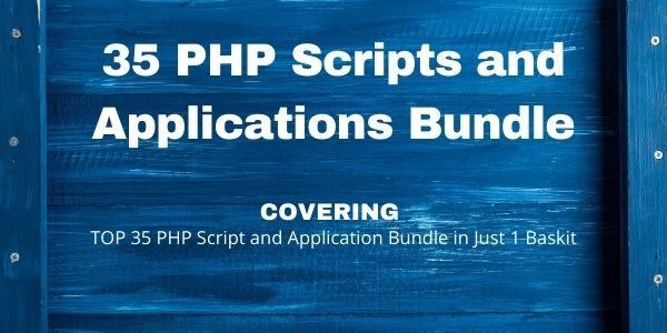 500 PHP Scripts and Applications Bundle