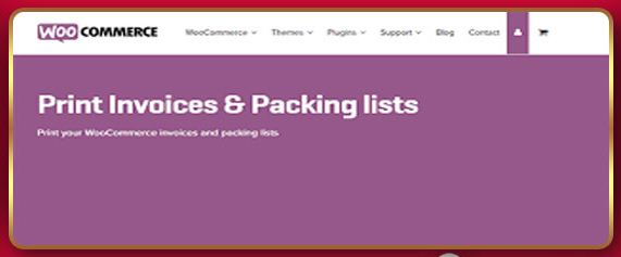 WooCommerce Print Invoices & Packing List